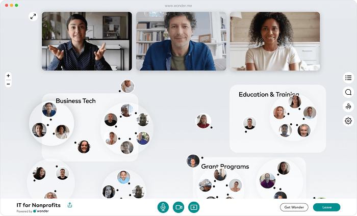 بهبود جلسات مجازی از ترند های طراحی رابط کاربری