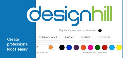 ابزار طراحی لوگو Designhill