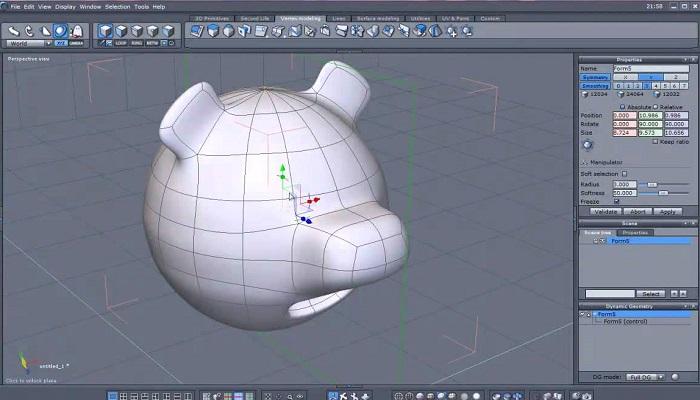 مدلسازی با Hexagon