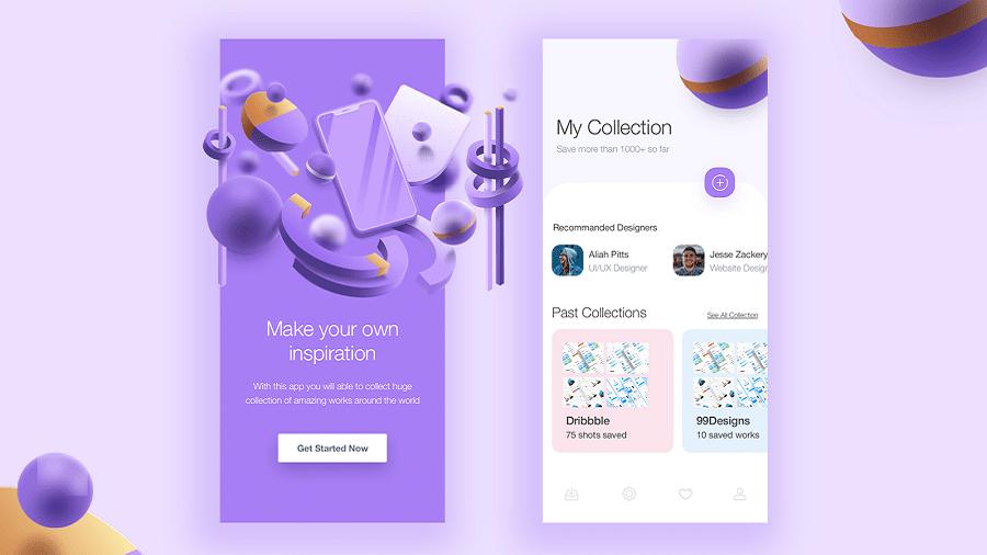 ترند طراحی رابط کاربری