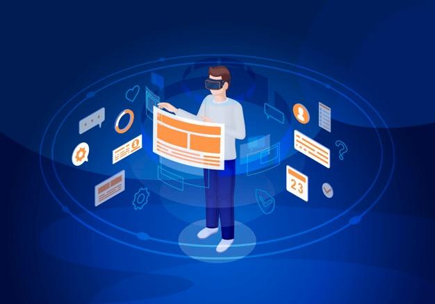 واقعیت مجازی در ترند های طراحی رابط کاربری