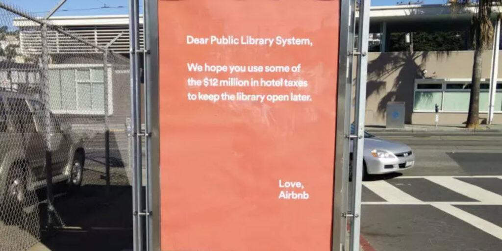 تبلیغات زرد Airbnb