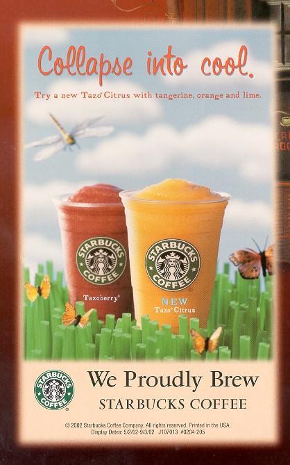 تبلیغات زرد - استارباکس