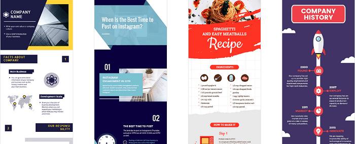 DesignCap ابزار اینفوگرافیک